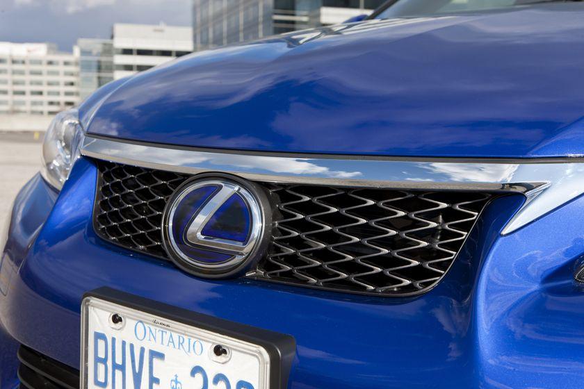 2012 Lexus CT 200h F-Sport 35