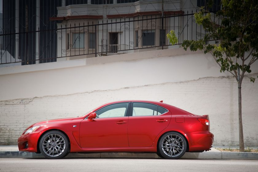 2012 Lexus IS F 01