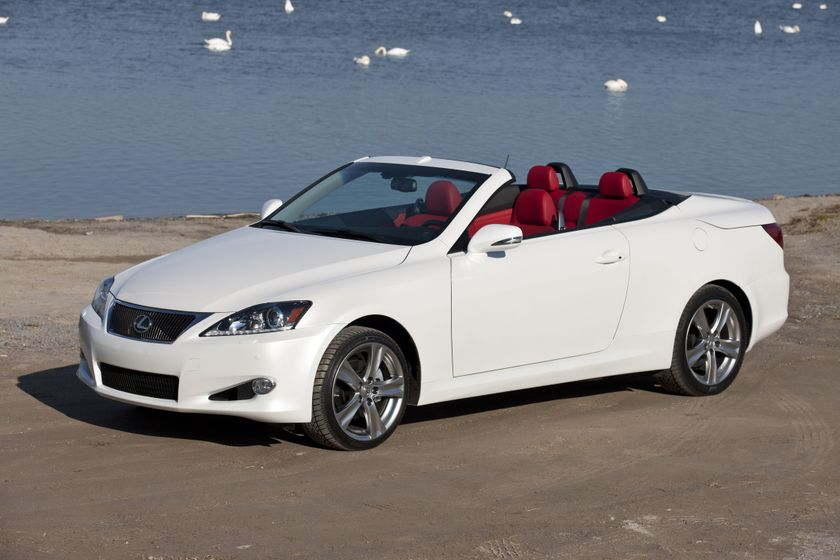 2012 lexus is 250 convertible