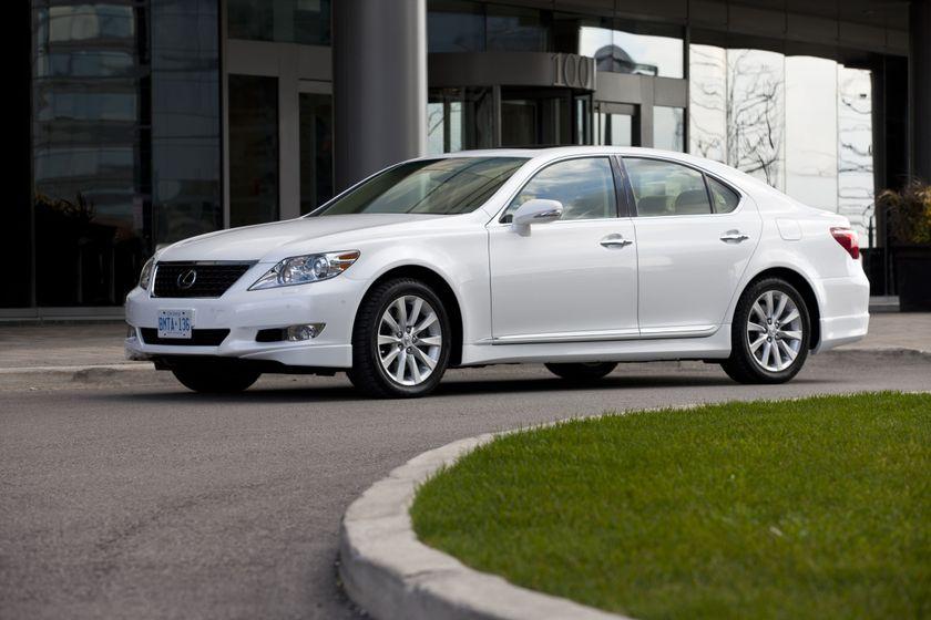 2012 Lexus LS 460S 10