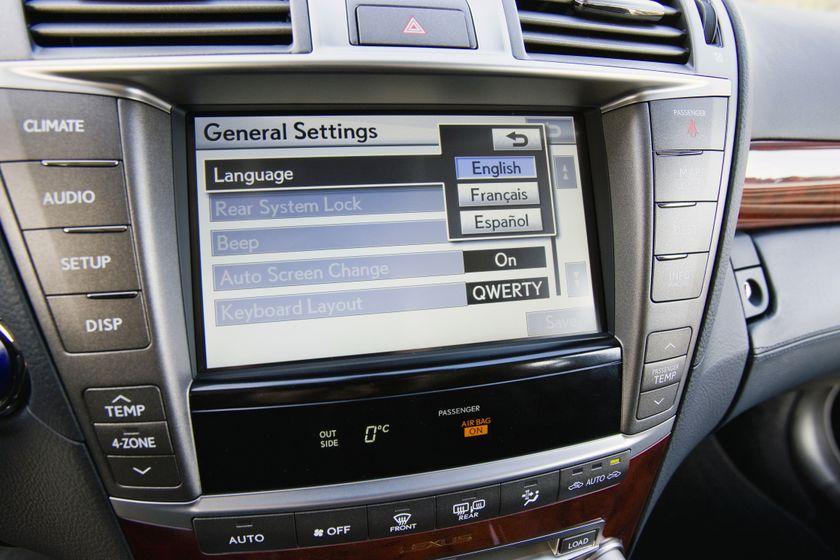 2012 Lexus LS 600h 38