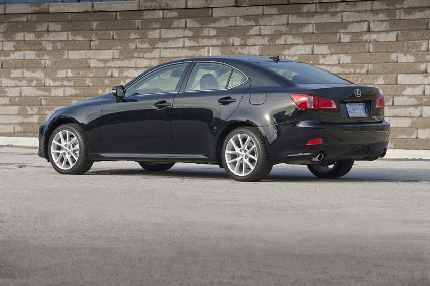 2012 Lexus IS 250 AWD 11