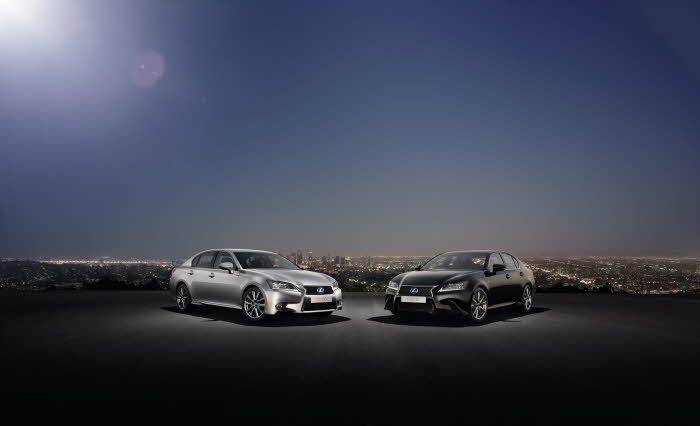 Lexus GS Shot F SPORT and 450h
