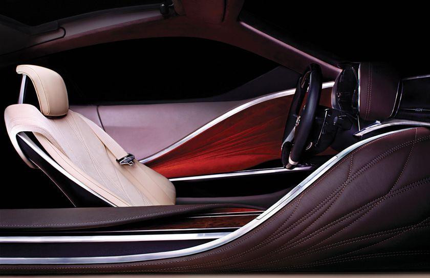 2012 NAIAS Lexus Concept Teaser - Interior