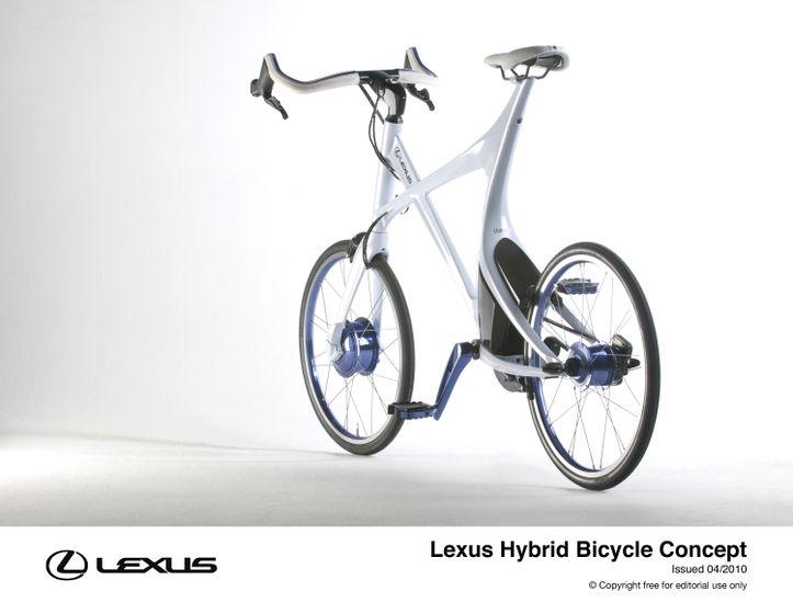 Lexus Hybrid Bicycle Concept 9