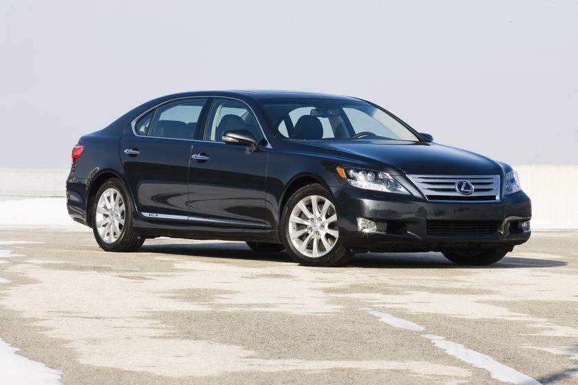 2011 Lexus LS 600h L 12