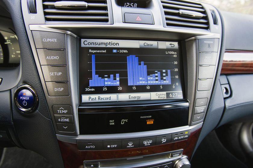 2011 Lexus LS 600h L 49
