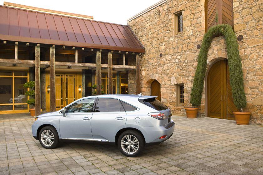 2011 Lexus RX450h 48