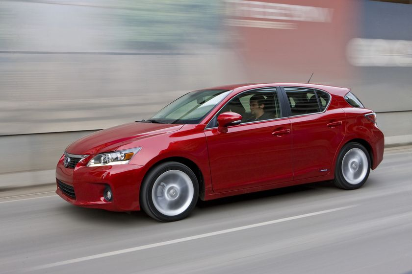 2011 Lexus CT 200h 10
