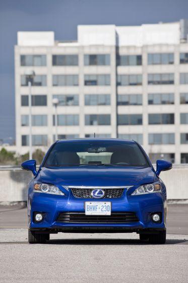 2012 Lexus CT 200h F-Sport 12