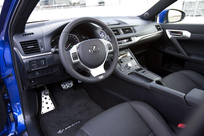 2012 Lexus CT 200h F-Sport 15