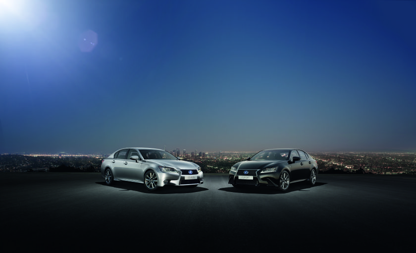 Lexus GS Shot F SPORT and 450h hi res