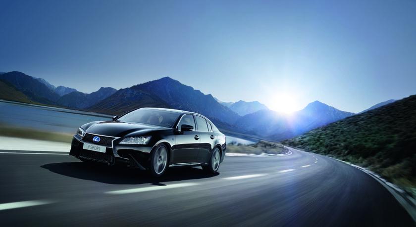 Lexus GS F SPORT hi res