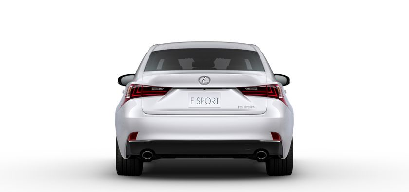 46 2014 IS WP Exterior White Q F SPORT 20130115