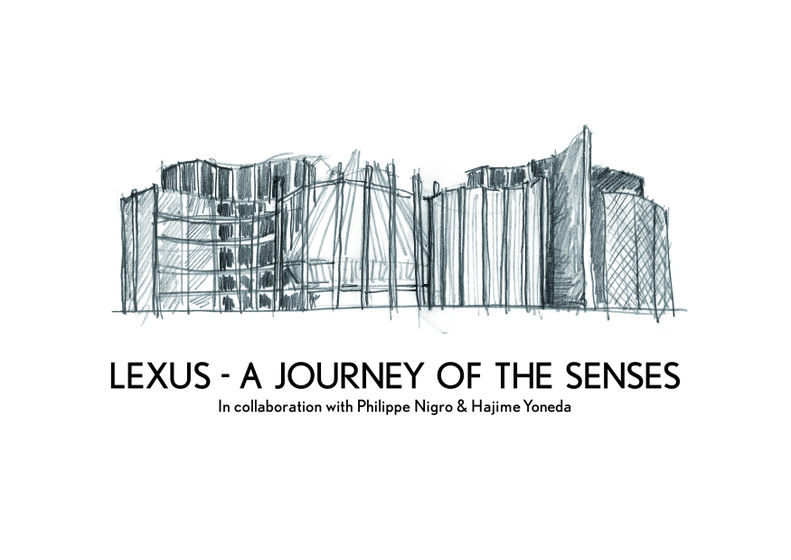 Milan Design Week 2015 - Lexus - A Journey of the Senses Exhibit