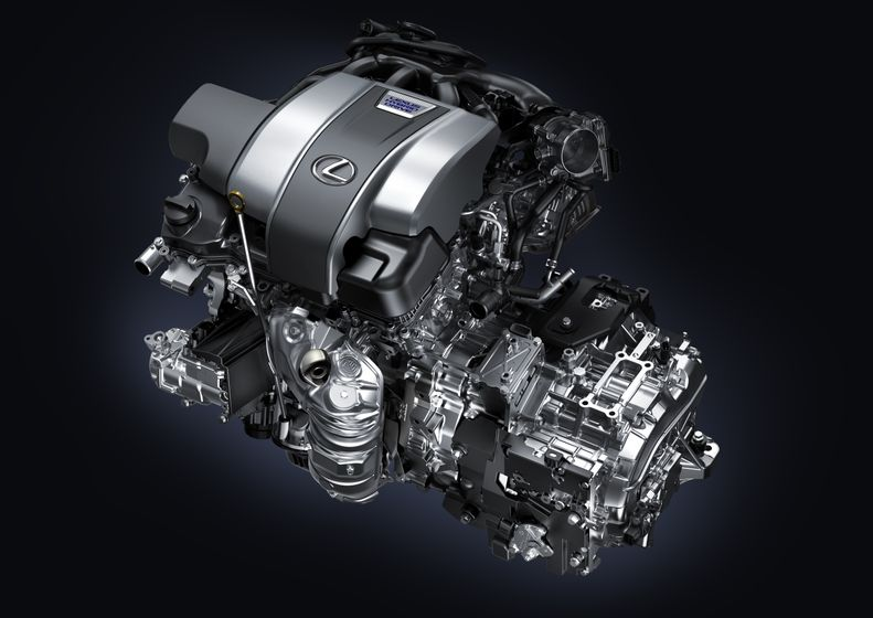017_2016 RX 450h_Engine-Transmission_NYIAS-HR