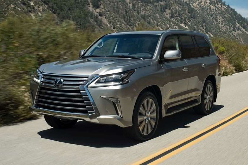 Making a Classic Entrance: Lexus Debuts Refreshed 2016 LX 570 Luxury
