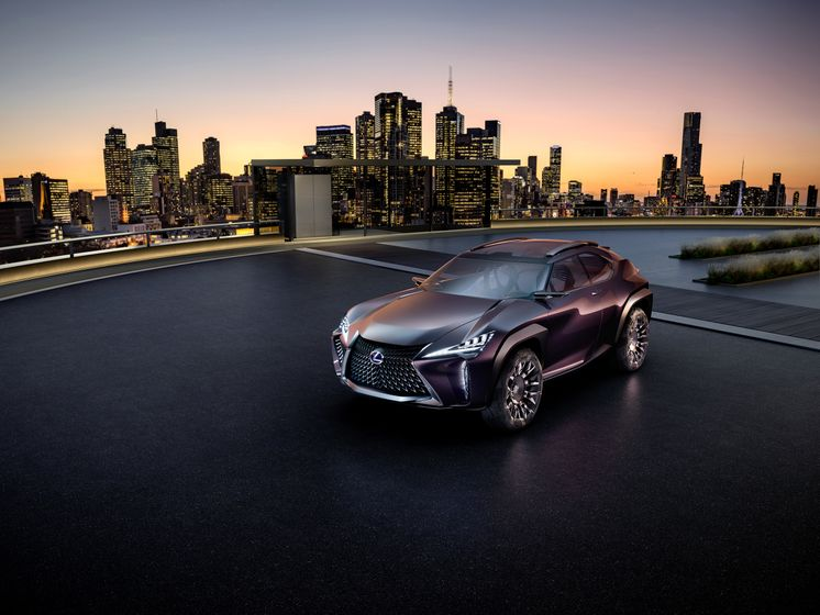 Lexus UX Concept 2016 - Paris Motor Show - 002