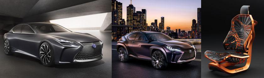 3 Lexus Concepts