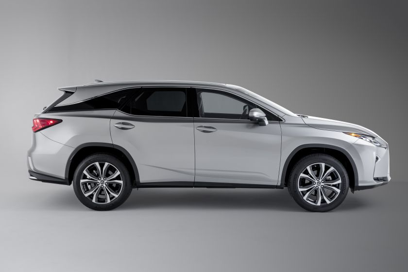 Lexus RX Drivers Now Have the Power of Three (Rows)