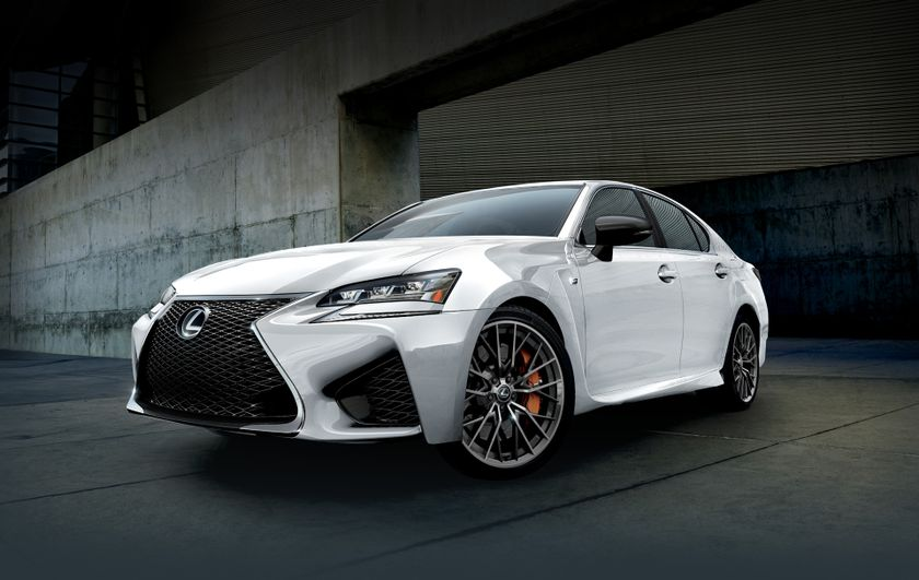 2018 Lexus GS F Ultra White