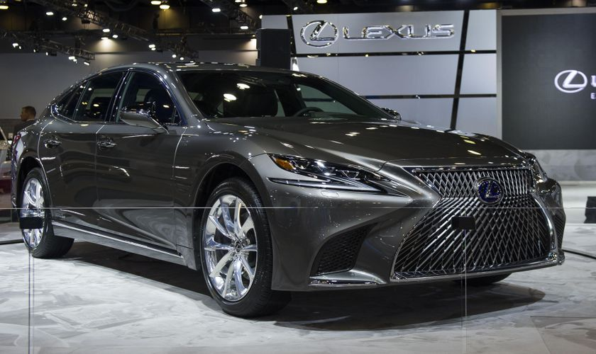 Lexus Reimagines Global Flagship Sedan With North American