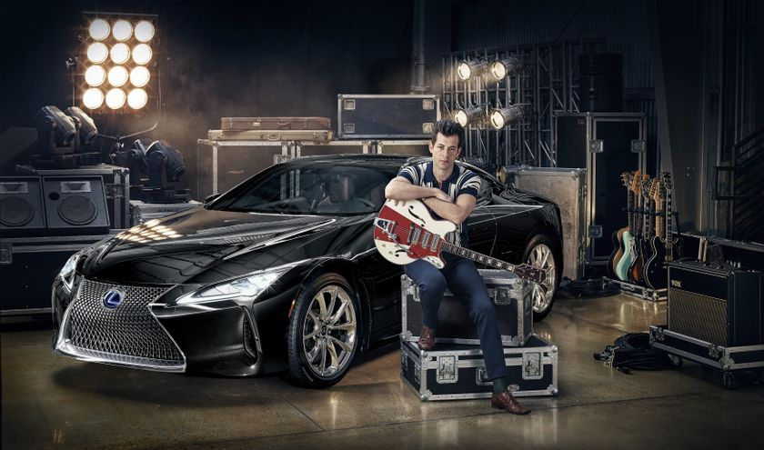 Lexus x Mark Ronson Announcement 1