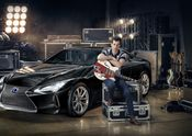 Lexus x Mark Ronson Announcement 1