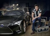 Lexus x Mark Ronson Announcement 2