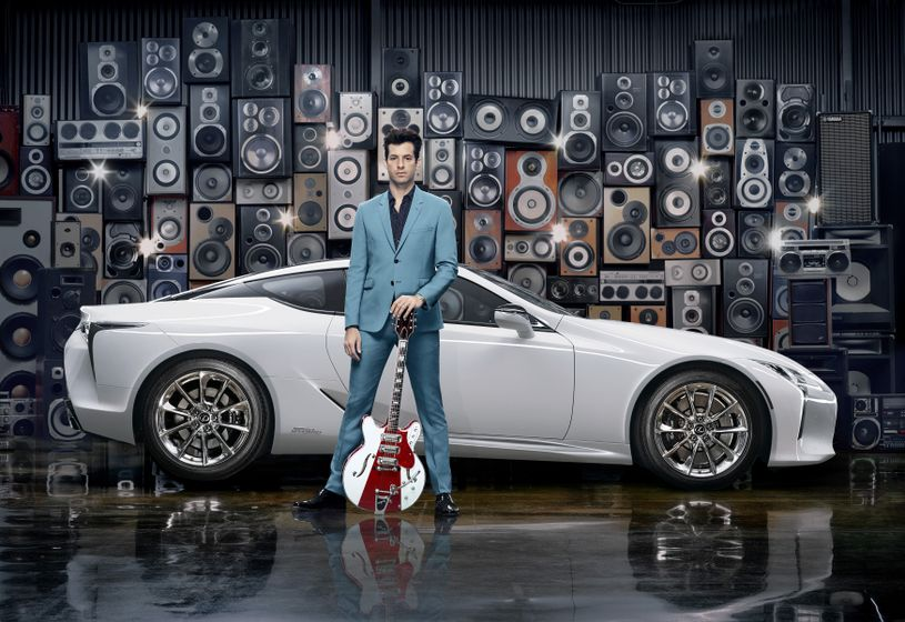 Lexus x Mark Ronson Announcement 3