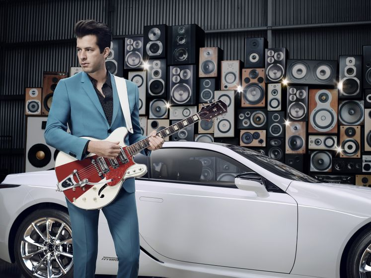 Lexus x Mark Ronson Announcement 4