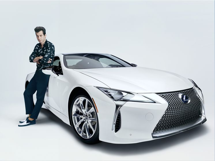 Lexus x Mark Ronson Announcement 8