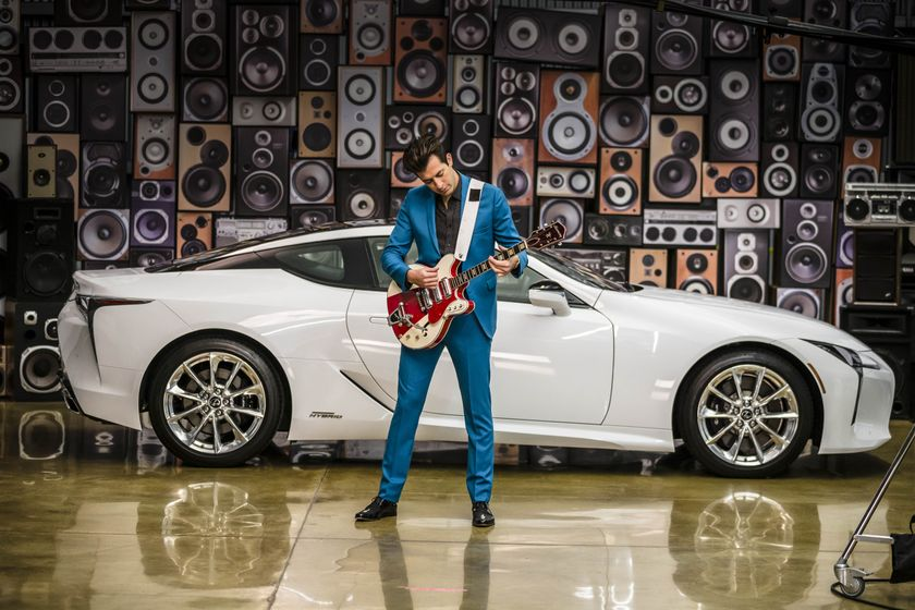 Lexus x Mark Ronson Announcement BTS 1