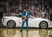 Lexus x Mark Ronson Announcement BTS 1