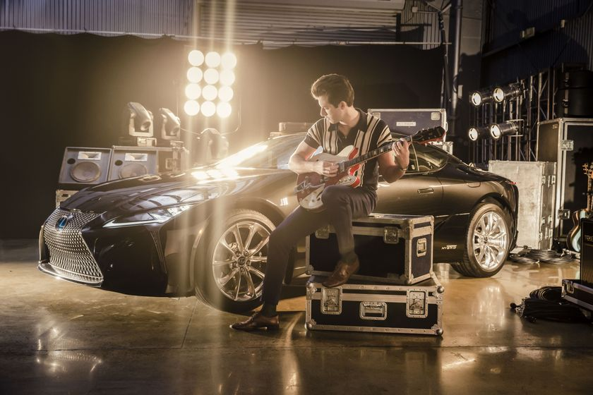 Lexus x Mark Ronson Announcement BTS 3