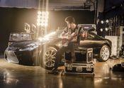 Lexus x Mark Ronson Announcement BTS 3
