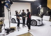 Lexus x Mark Ronson Announcement BTS 7