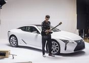 Lexus x Mark Ronson Announcement BTS 8