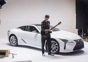 Lexus x Mark Ronson Announcement BTS 8
