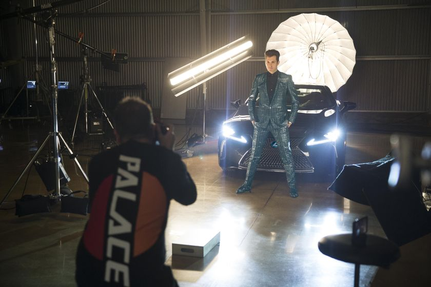 Lexus x Mark Ronson Announcement BTS 10