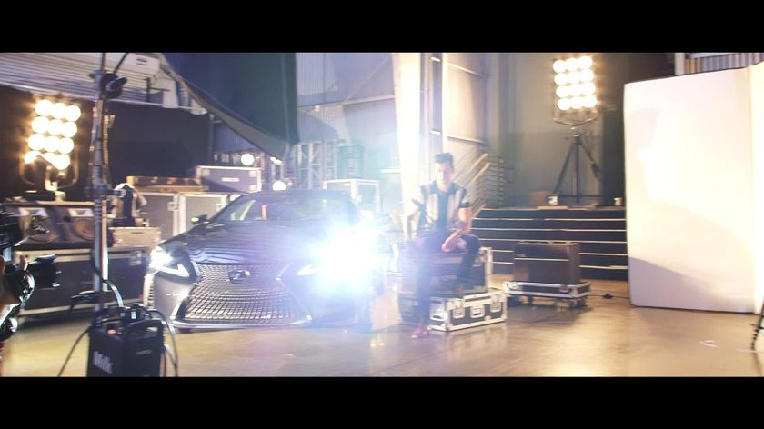 Lexus x Mark Ronson Announcement - BTS Webisodic