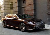 2018 Lexus LS 500h Agate