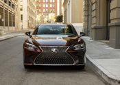 2018 Lexus LS 500 car to car