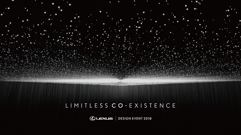 LEXUS LIMITLESS CO-EXISTENCE Key Visual