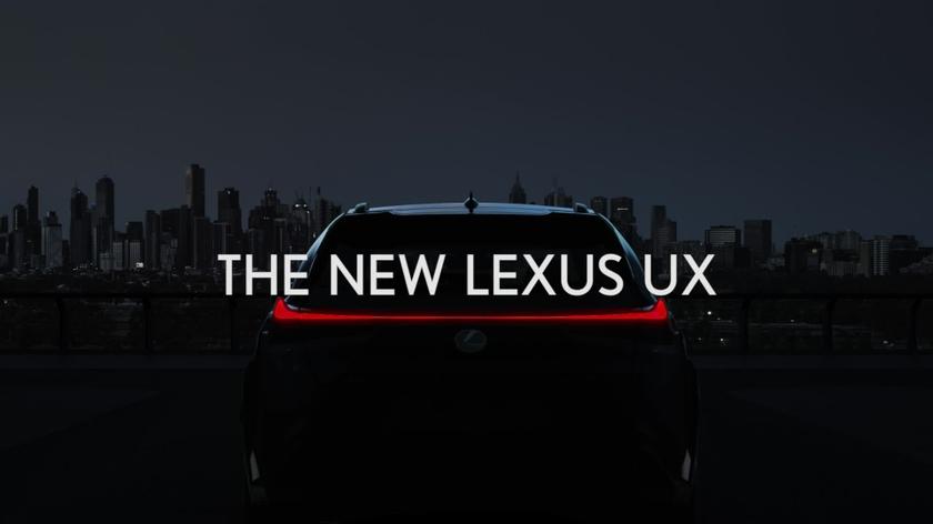 Lexus UX Geneva 1080p