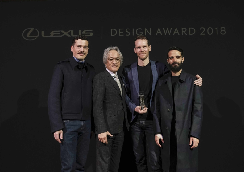 2018 Lexus Design Award Grand Prix Winner 001