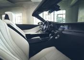 Lexus LC Convertible Concept Dash Portrait