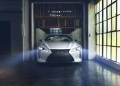 Lexus LC Convertible Concept Direct Front