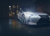 Lexus LC Convertible Concept Front Skim
