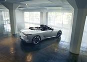 Lexus LC Convertible Concept Rear High 1